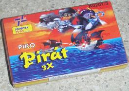 PIKO  PIRÁT 3X