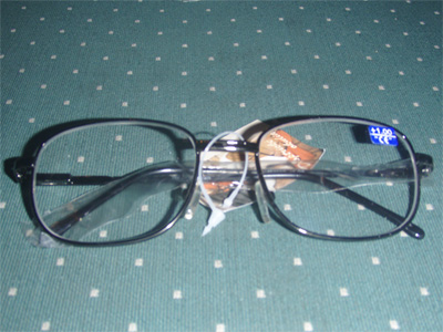Dioptrické okuliare na čítanie kovové M2010 - nikel - +3,5