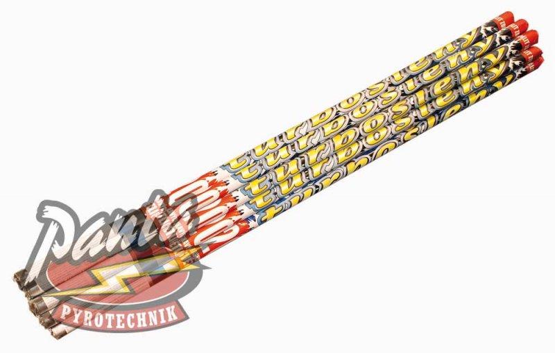 Turbošleha - rímska svieca 12 kusov  20 Sh