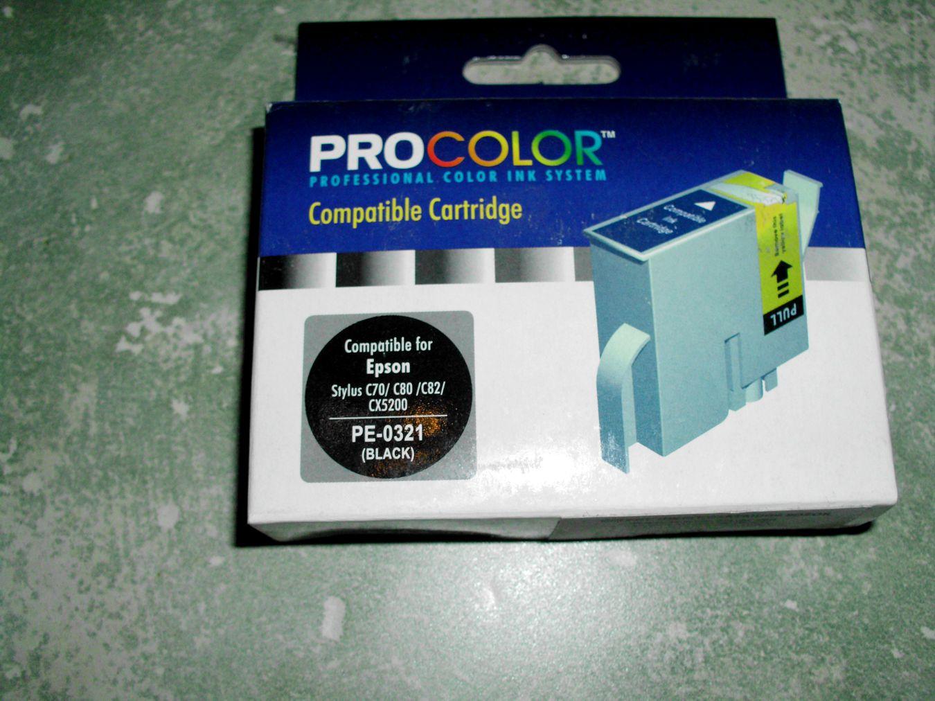 EPSON T032140 Black - PE-0321 - C13T032140