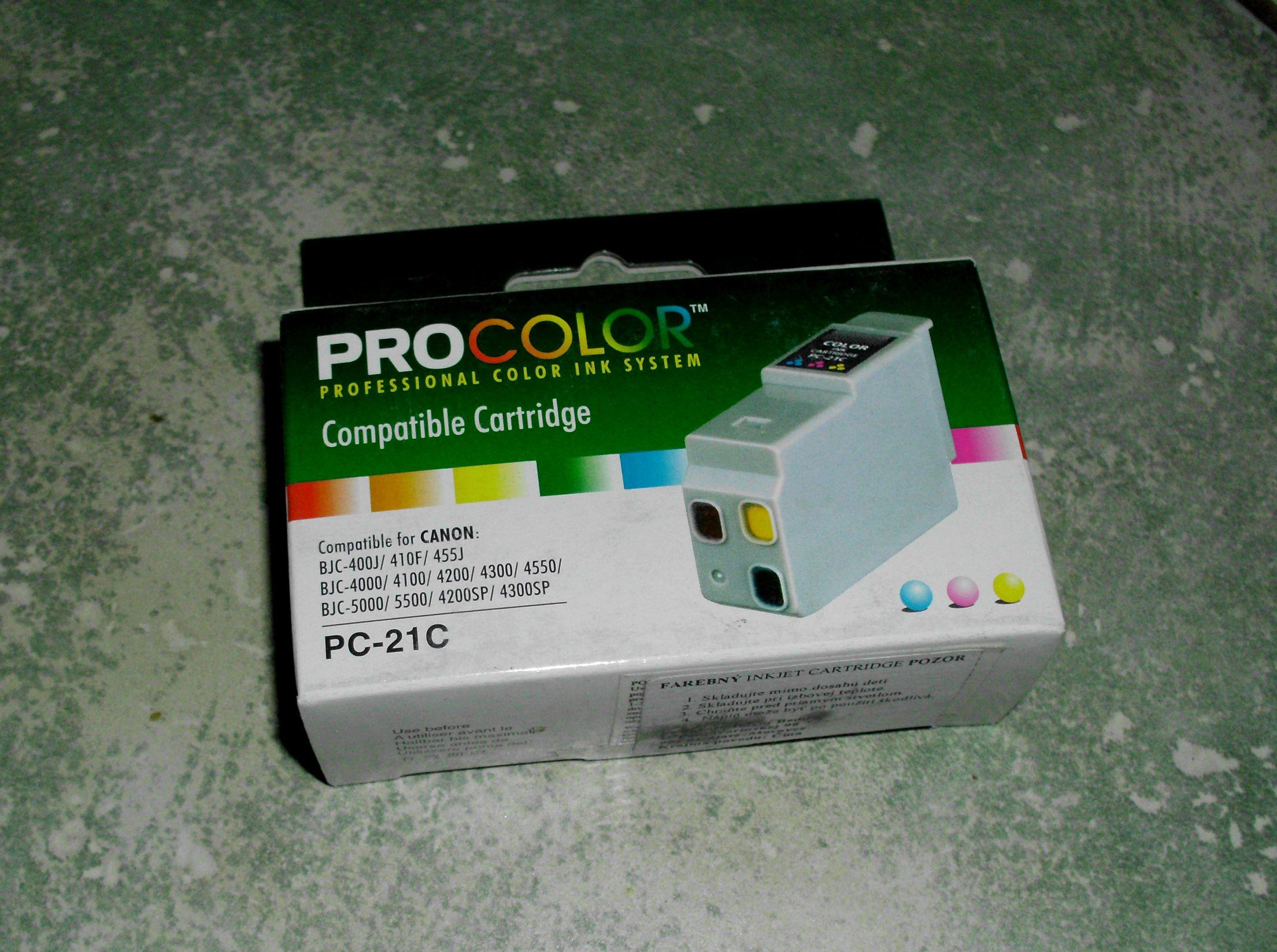 Canon 21C Color