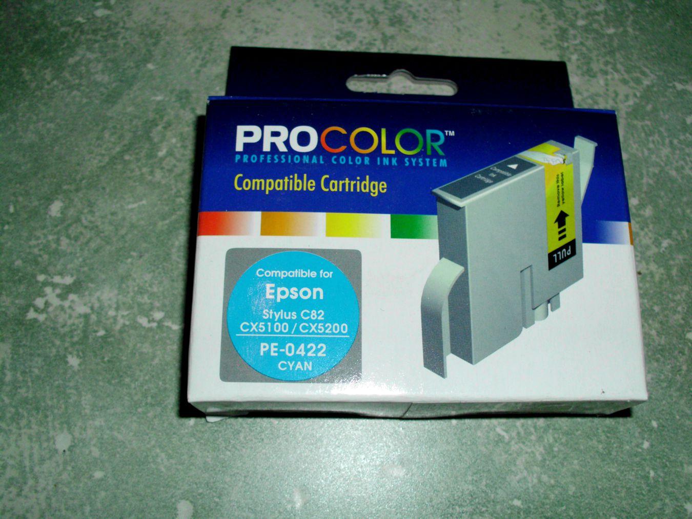 Canon T042240 Cyan - PE-0422 - C13T042240
