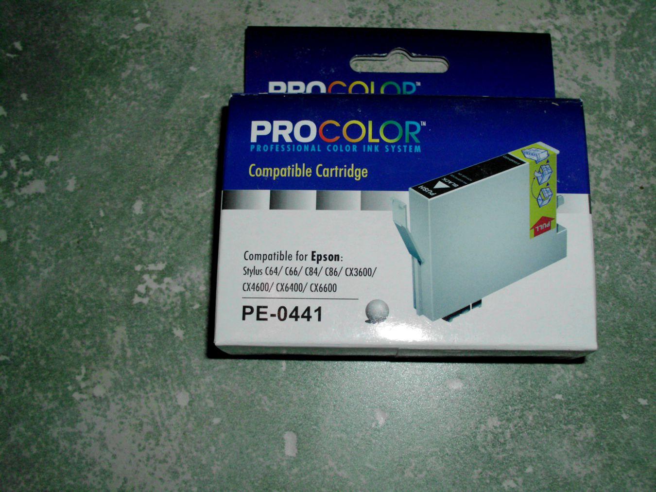 Epson T0441 Black - PE-0441 - C13T04414