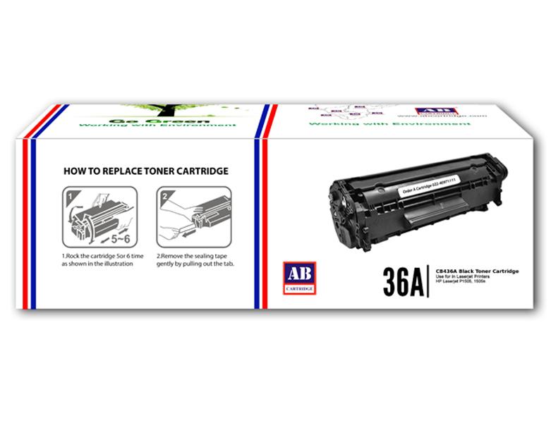 Toner AB-HP CB436A