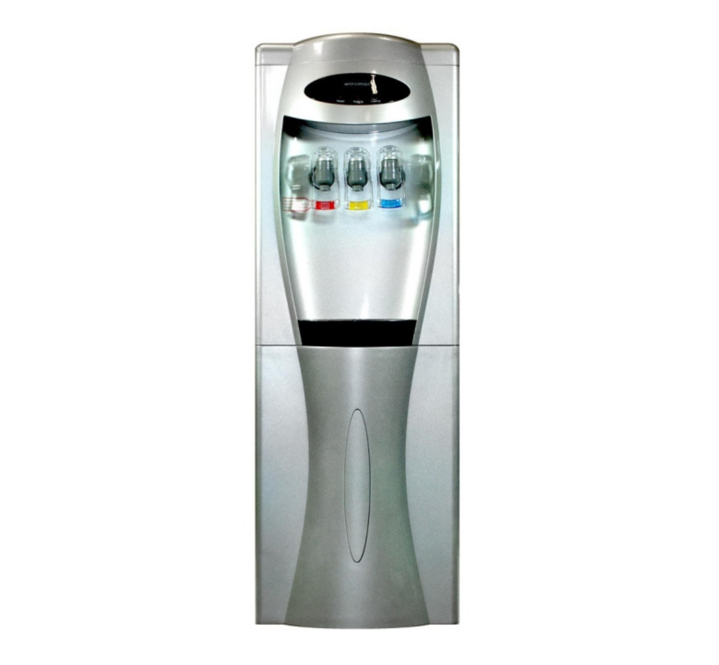 Kompresorový digitálny strieborný výdajník vody SA208DS2T
