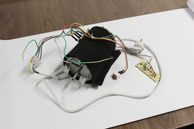 Kompletná elektronika s led, vyhrievací tank, kabeláž, termostaty