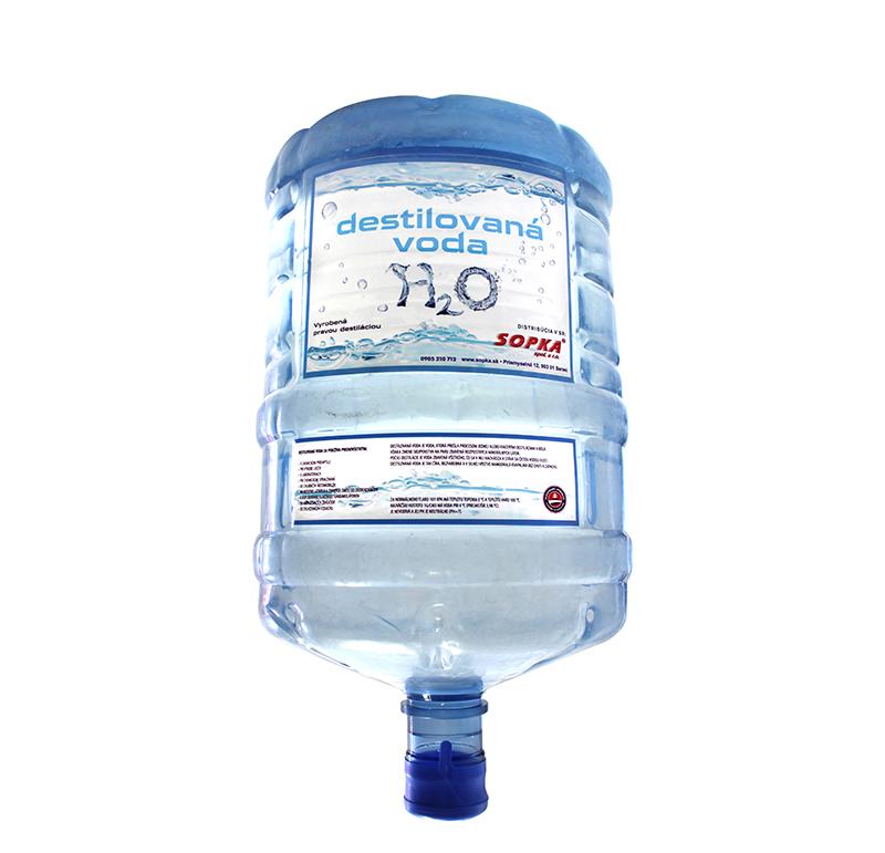 Destilovaná voda 18,9 litrov