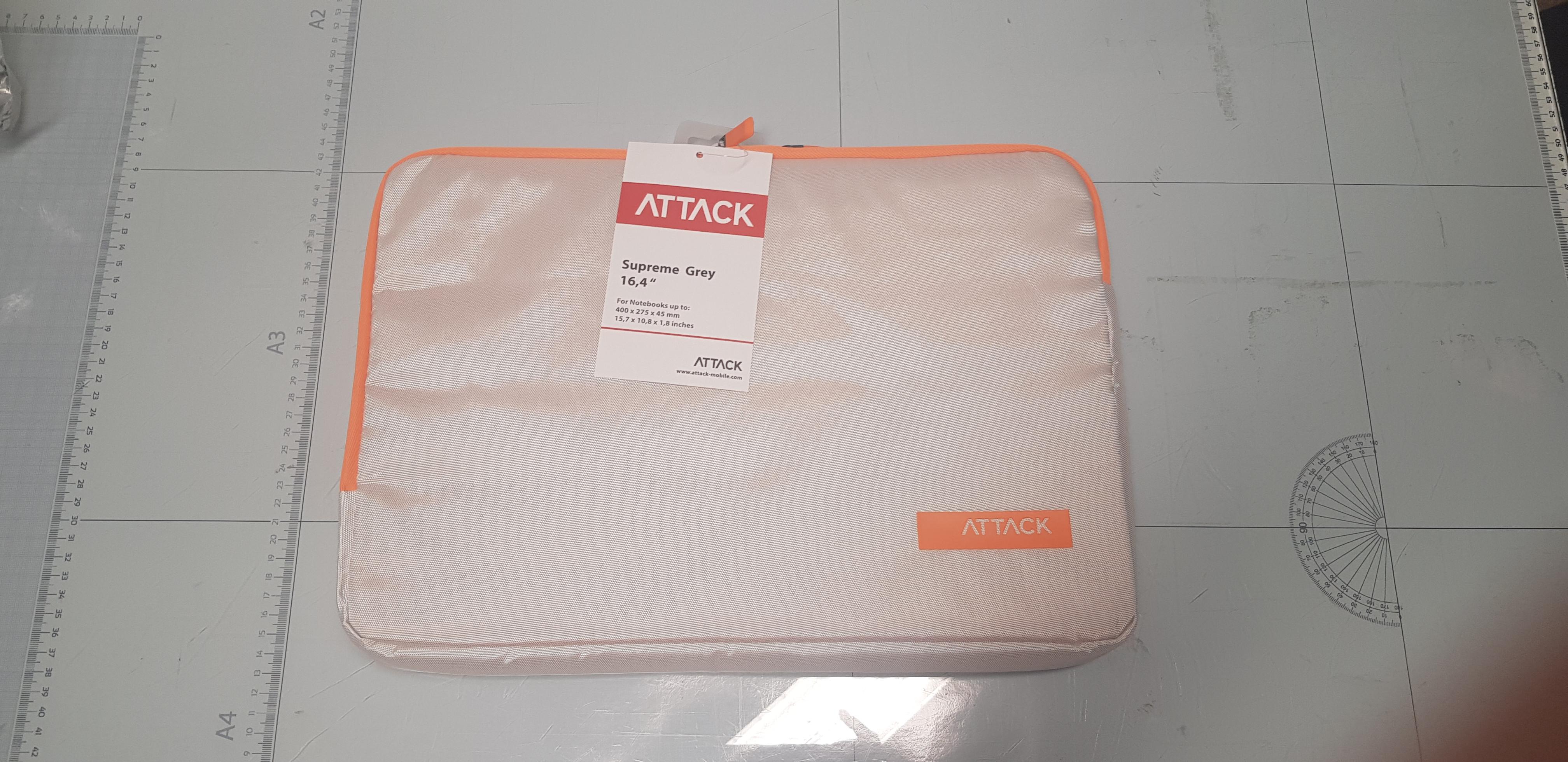 Taška na notebook oranžová