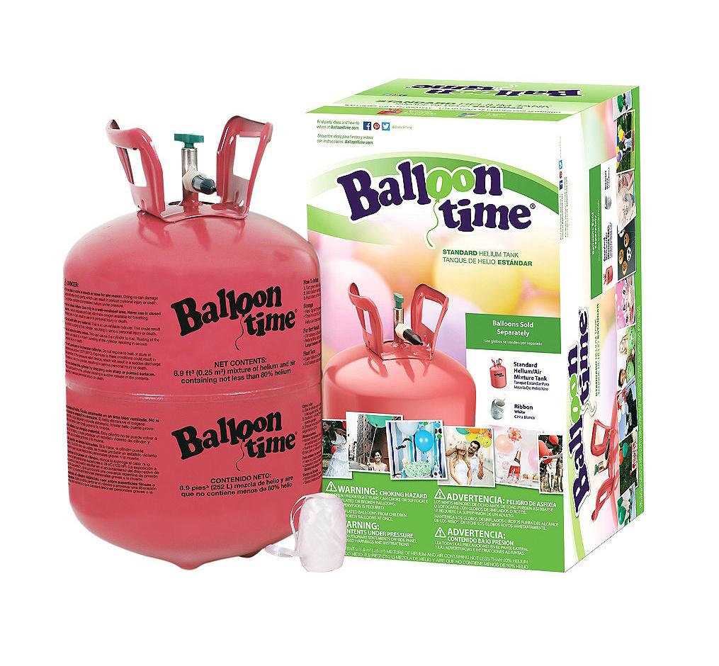 Helium tank Balloon Time