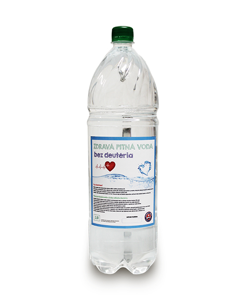 Voda bez DEUTÉRIA H37 na pitie 2l