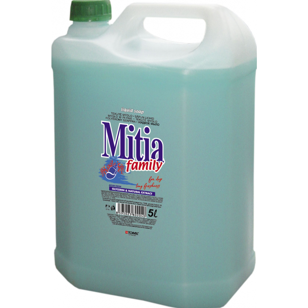 Mitia family, liquid soap 5L