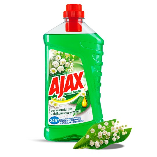 Ajax Floral Fiesta with essential oils, Spring Flowers 1L