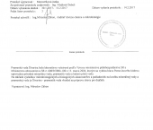 Certifikát ŠIVARINA